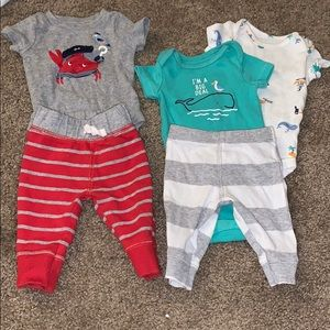 Carter's baby boy outfits
